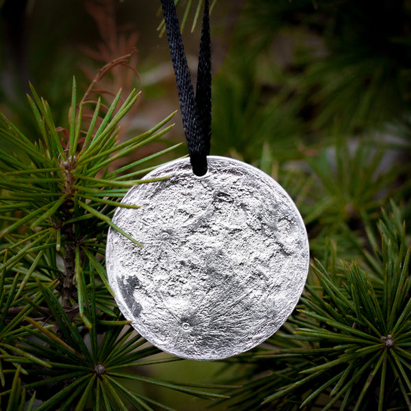 Moon Ornament with Collectible Moon Tin
