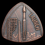 OSIRIS-REx Launch Copper Coin