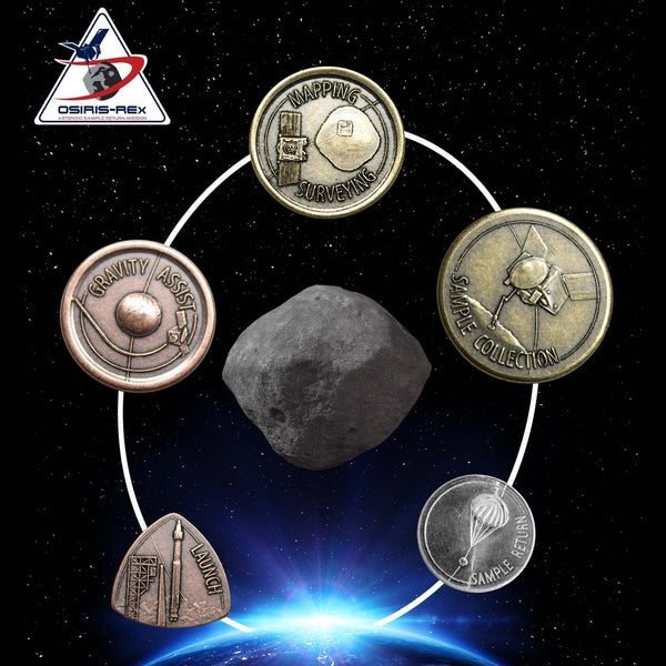 OSIRIS-REx Set of 5 Coins