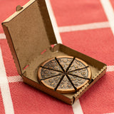 Pizzas of Eight Breakable Supreme Pizza Coin in a Tiny Pizza Box | Shire Post Mint
