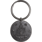 Ash-Blackened Boxing of The Final Empire Keyring - Mistborn, Brandon Sanderson