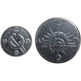 Mistborn Set #1 - Two Ash-Blackened Coins