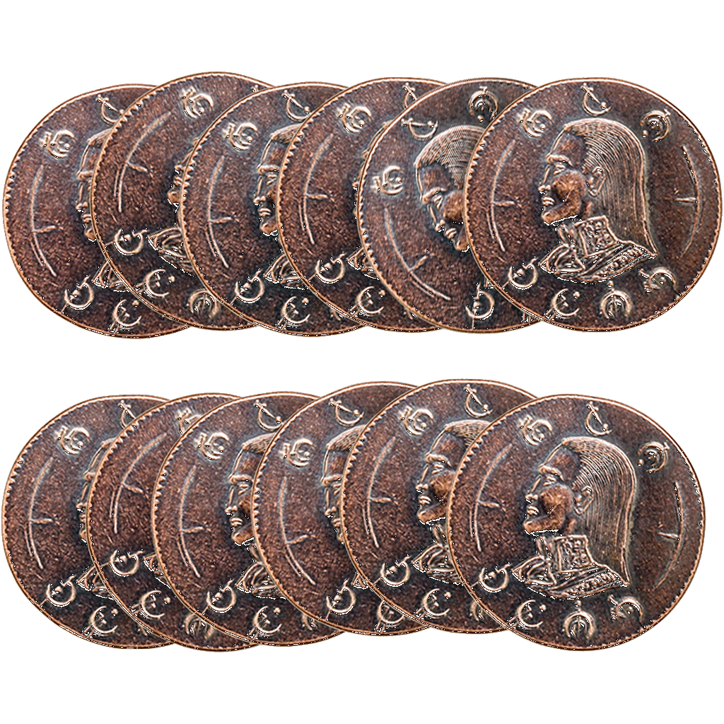 Mistborn Gaming Set - Twelve Copper Clips - Mistborn, Brandon Sanderson