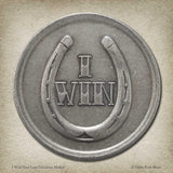 I Win / You Lose Coin Toss Decision Maker in nickel-silver - coin by Shire Post Mint
