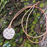Ullr/Vegvísir Necklace