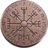 Vegvísir Wayfinder Spinning Top - Historical Fiction, Shire Post Mint,