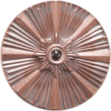 Copper Strobe Spinning Top