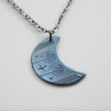 RIVENDELL™ MITHRIL™ Blue Moon Necklace