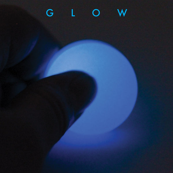 Glowing Blue Worry Stone