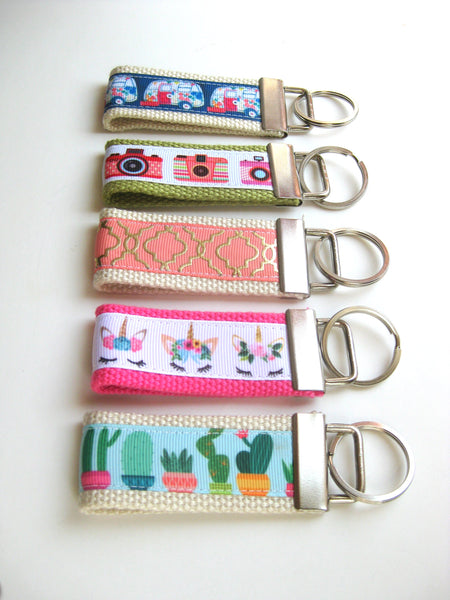 Pretty Women's Key Fob - Cute Keychain for Women