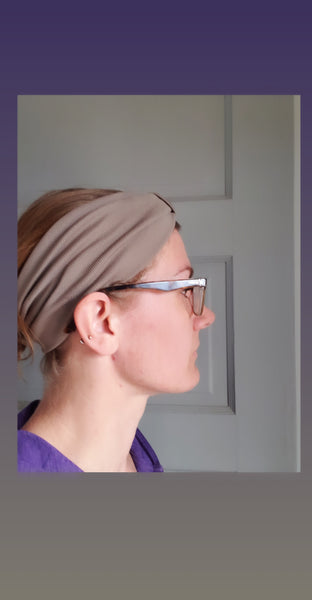 Knotted Headband - Yoga Headband for Women - Wide Headband - Boho Head Wrap - Moisture Wicking
