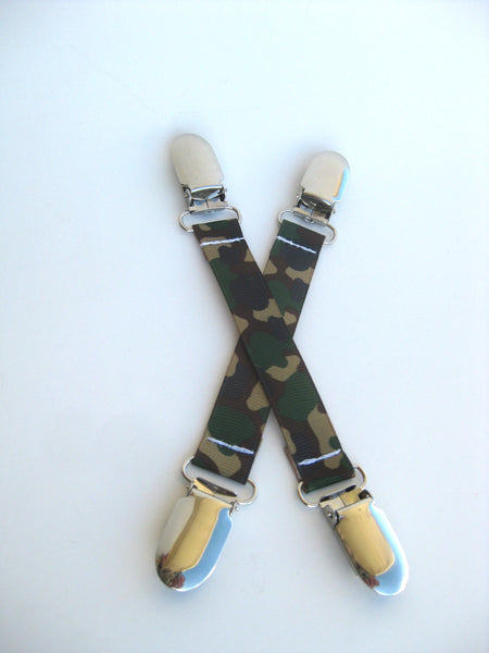 Camo MITTEN CLIPS for Children - Kids Mitten Clips - Glove Clips for Kids