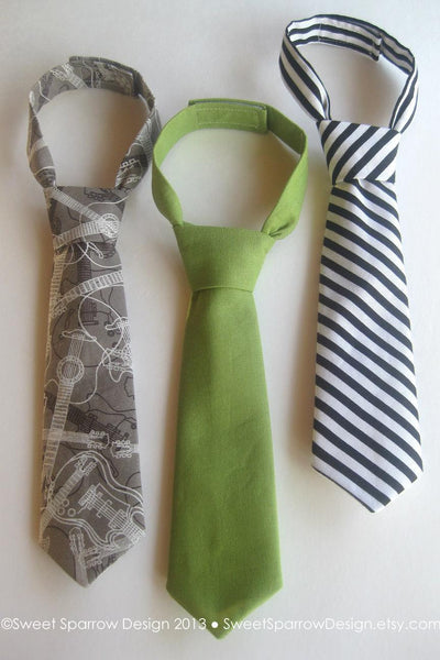Baby Boy NECK TIE- Infant Necktie- Baby Necktie- Baby Boy Necktie- Little Boys Necktie- Baby Birthday Outfit- Baby Boy Gift- Baby Photo Prop
