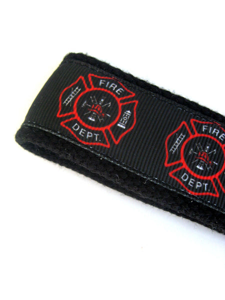 Firefighter Keychain- Firefighter Gift for Him- Firefighter Key Chain Wristlet- Firefighter Wife