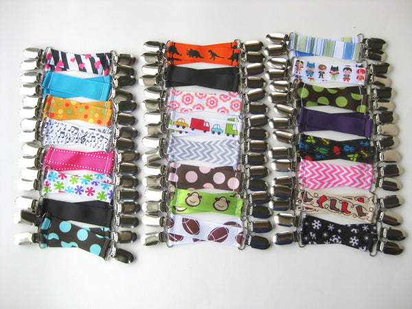 8 Pairs of MITTEN CLIPS for Children- Kids Mitten Clips- Glove Clips for Kids