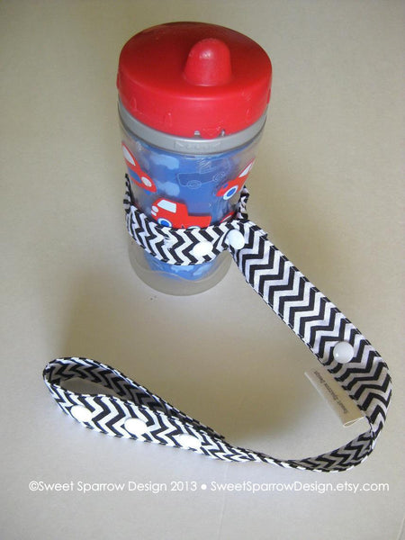 Chevron Baby Gift Set- Toy Strap- Chevron Toy Leash- Dummy Clip- Pacifier Clip- Soother Clip- Boutique Baby Gift Set- Baby Shower Gift Set