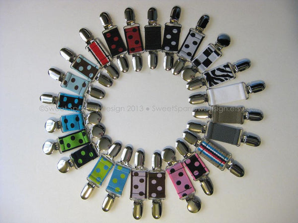 Reserved for Sallie-50 Women's Dress Clips- Garment Clips