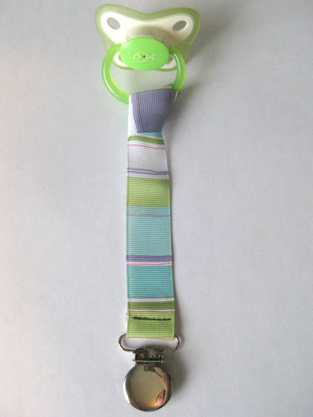 PACIFIER CLIP Set- Boy Pacifier Clip- Boy Dummy Clip- Buy 3 and SAVE- Soother Clip- Soothie String- Baby Boy Gift- Baby Girl- Nuk Mam Gerber