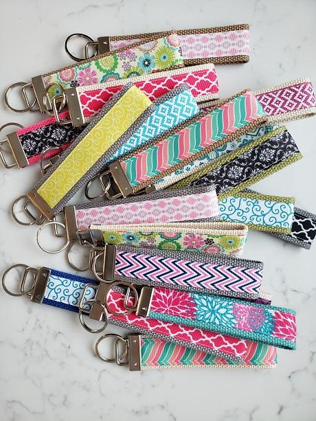 beautiful handmade women's keyfobs womens keychain