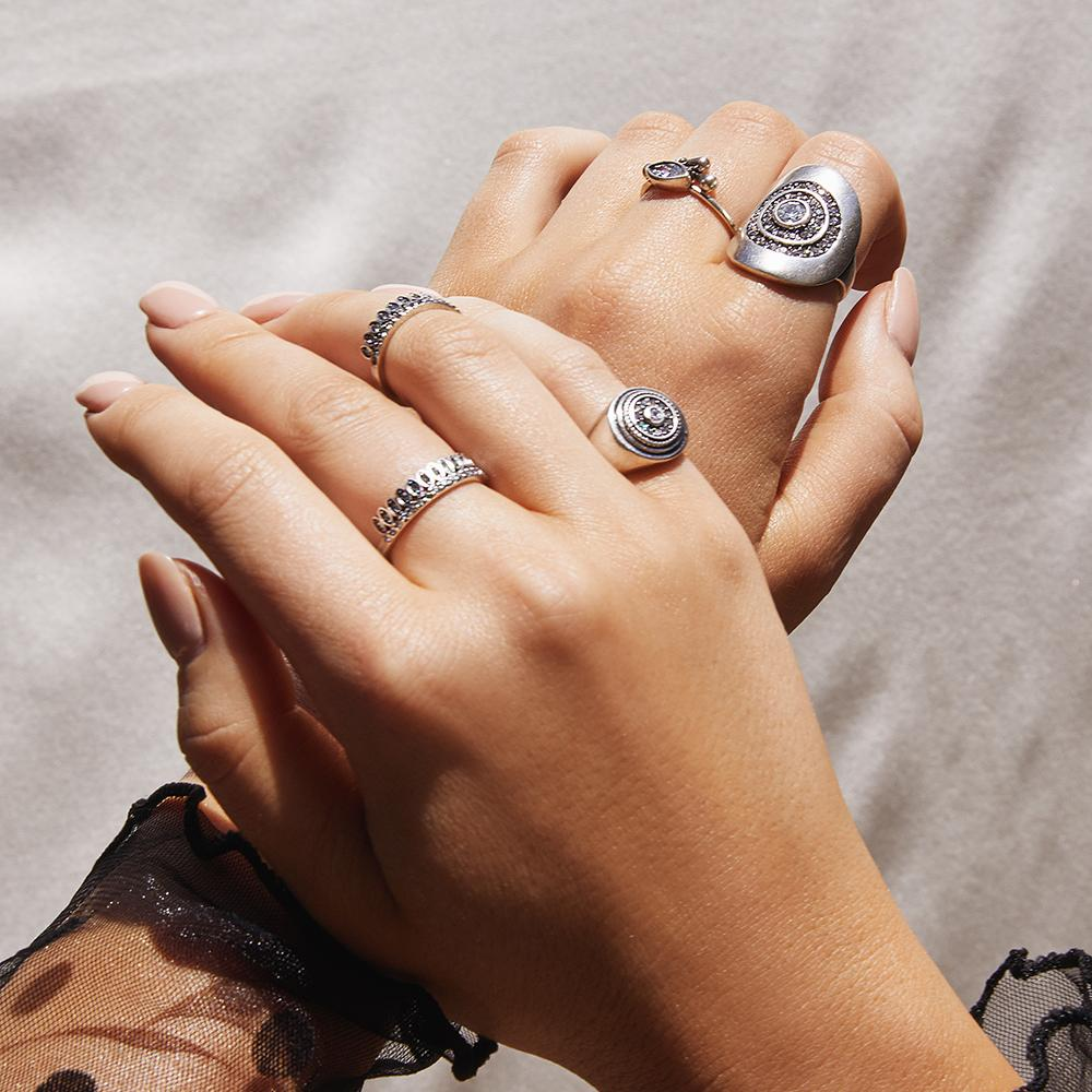 LUV AJ | Cosmic Teardrop Ring Set