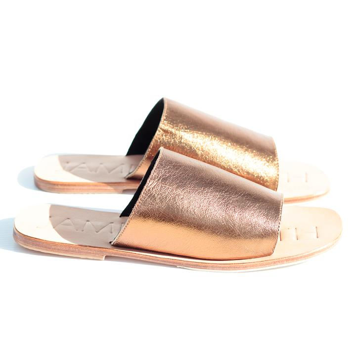 James Smith | Off Duty Sandals in Bronzed