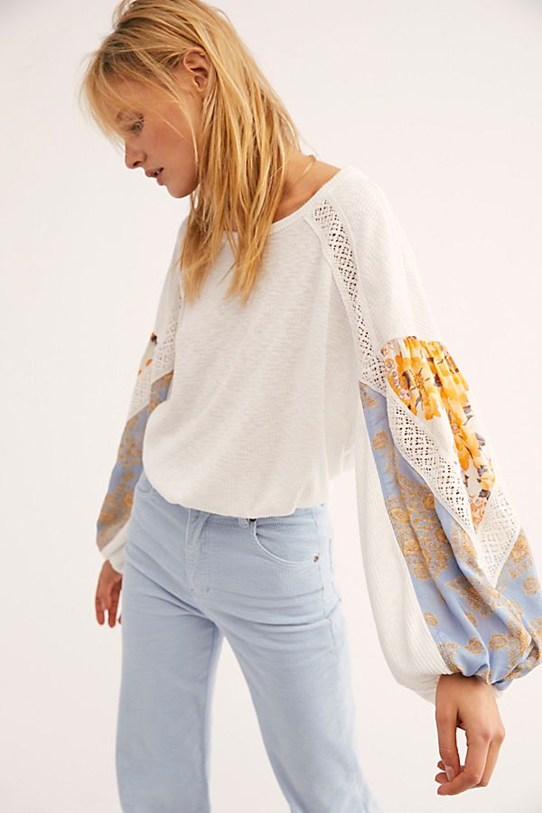 Free People | Casual Clash Top
