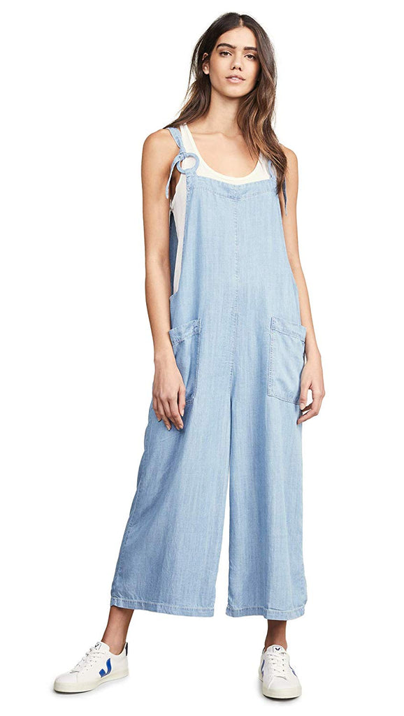 Moon River | Denim Jumpsuit