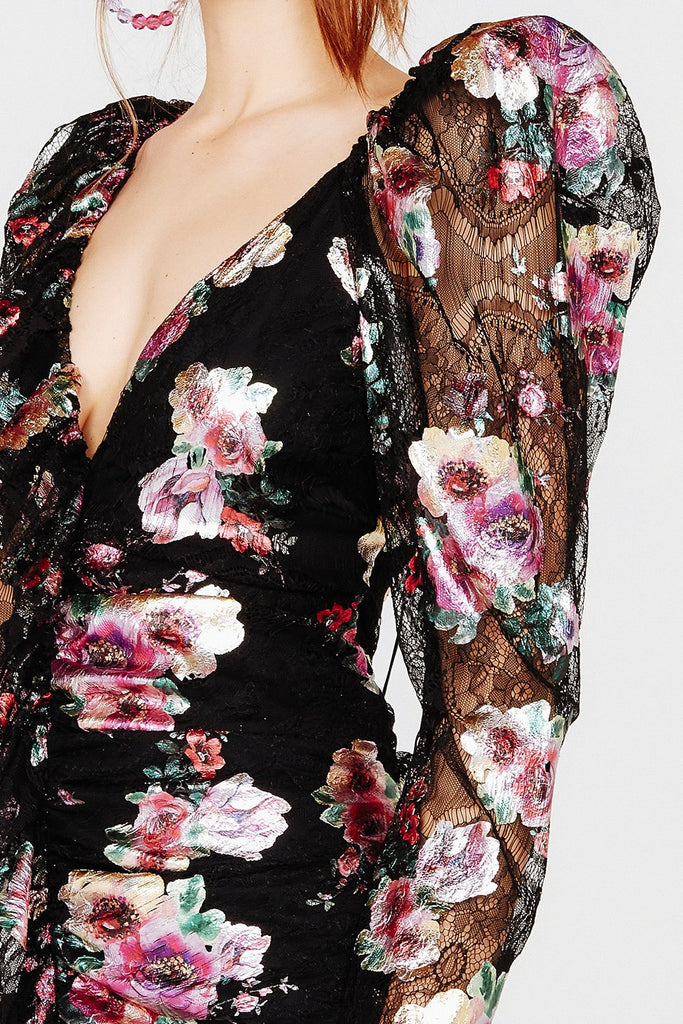 For Love & Lemons | Benatar Ruffle Mini Dress