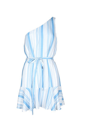 MINKPINK | One Shoulder Stripe Dress