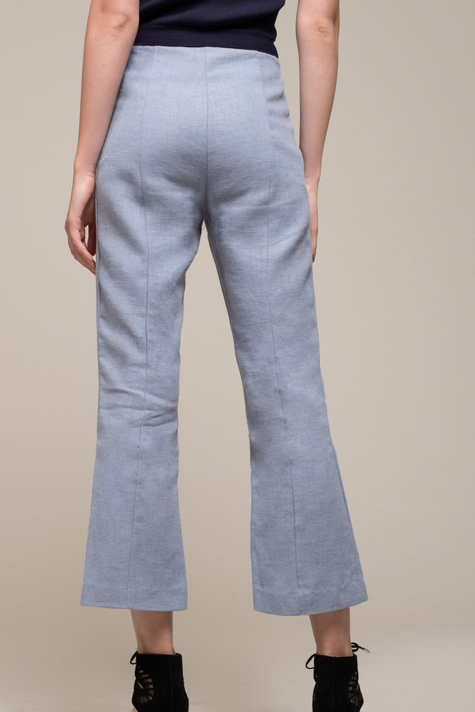 Moon River | Cropped Pants with Slits