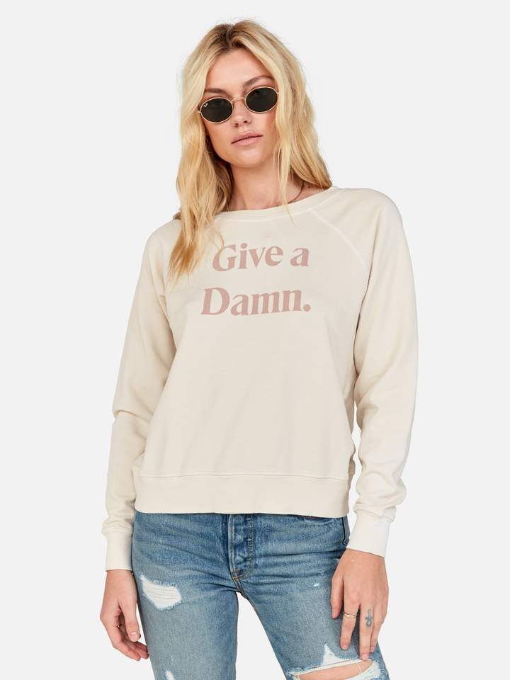 "MATE THE LABEL | ""Give A Damn"" Vintage Pullover"