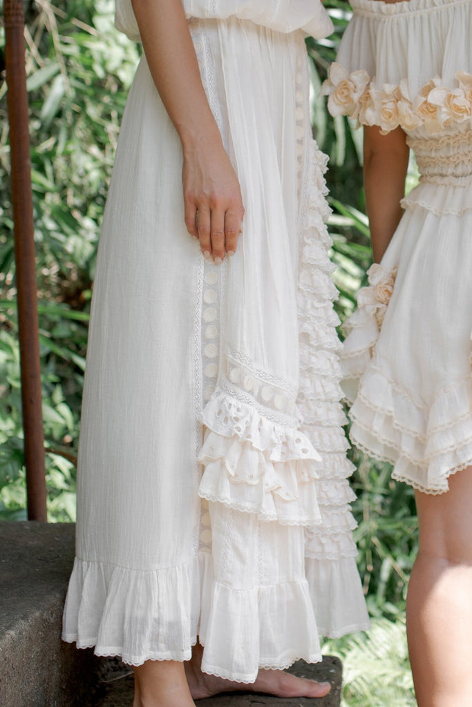 Fillyboo | Neverland Embroidered Skirt