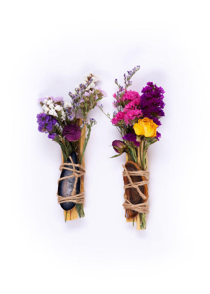 J. Southern Studio | Palo Santo Flora Bundle with Agate