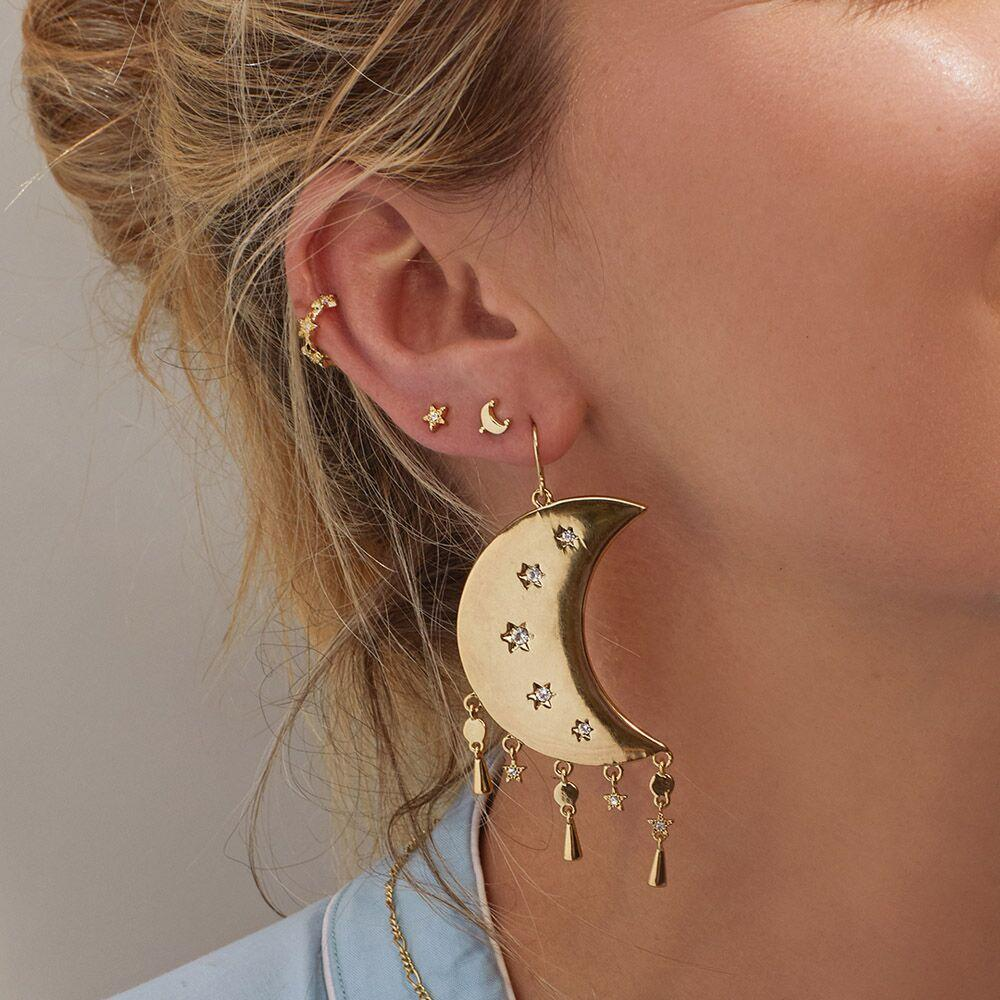 LUV AJ | Celestial Statement Earrings