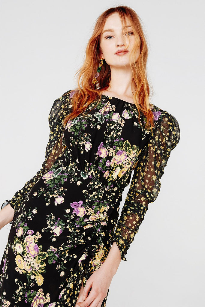 For Love & Lemons | Ross Midi Dress