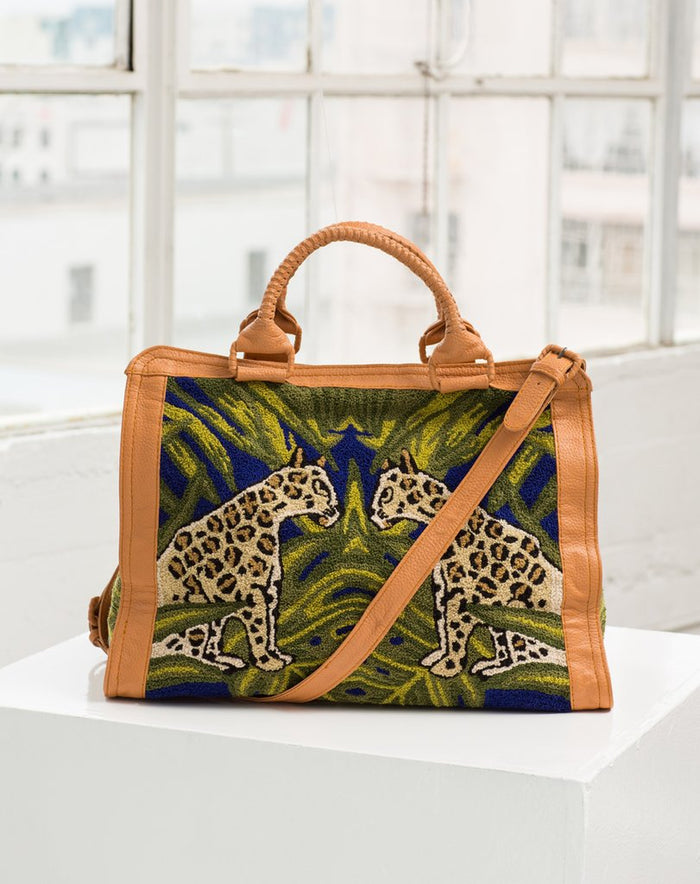 Cleobella | Sadie Travel Bag Leopard