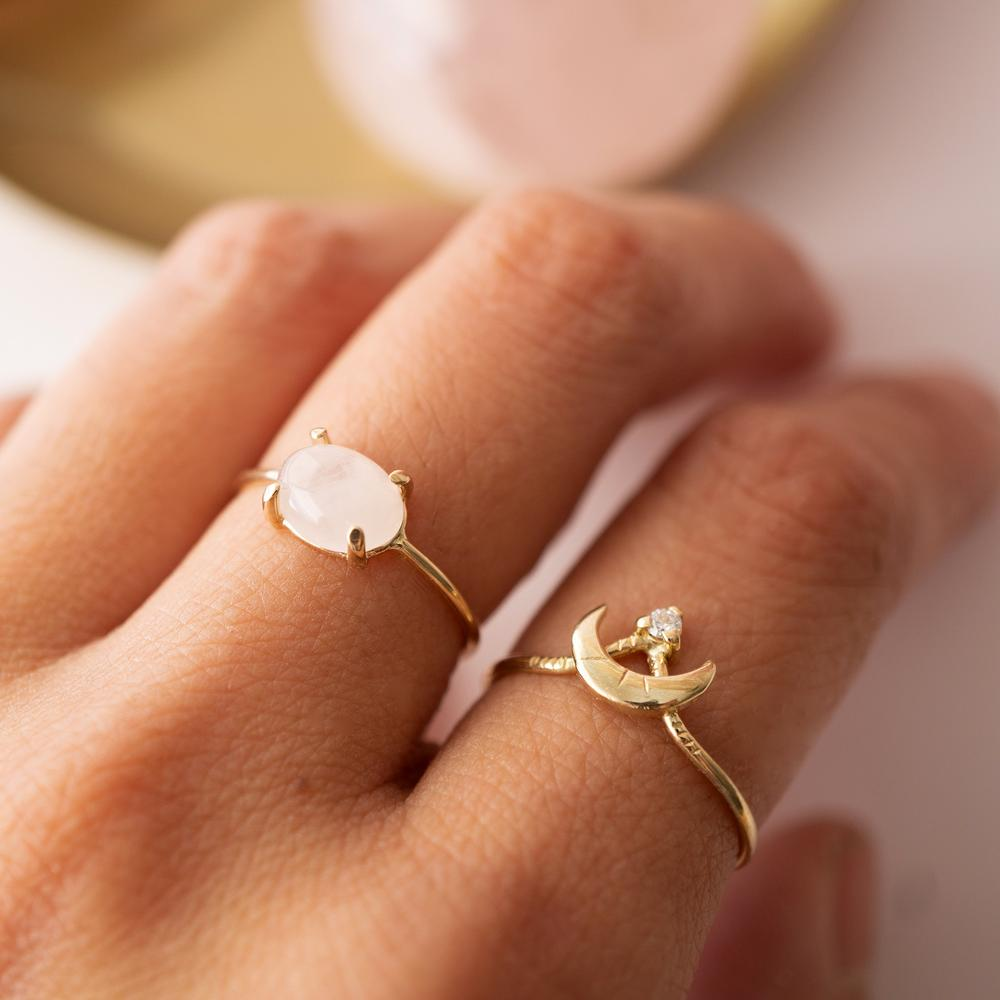 Kindred Row | Guardian Moon Ring