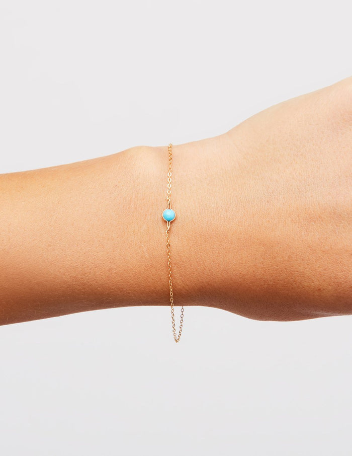 Kindred Row | Turquoise Saturn Bracelet