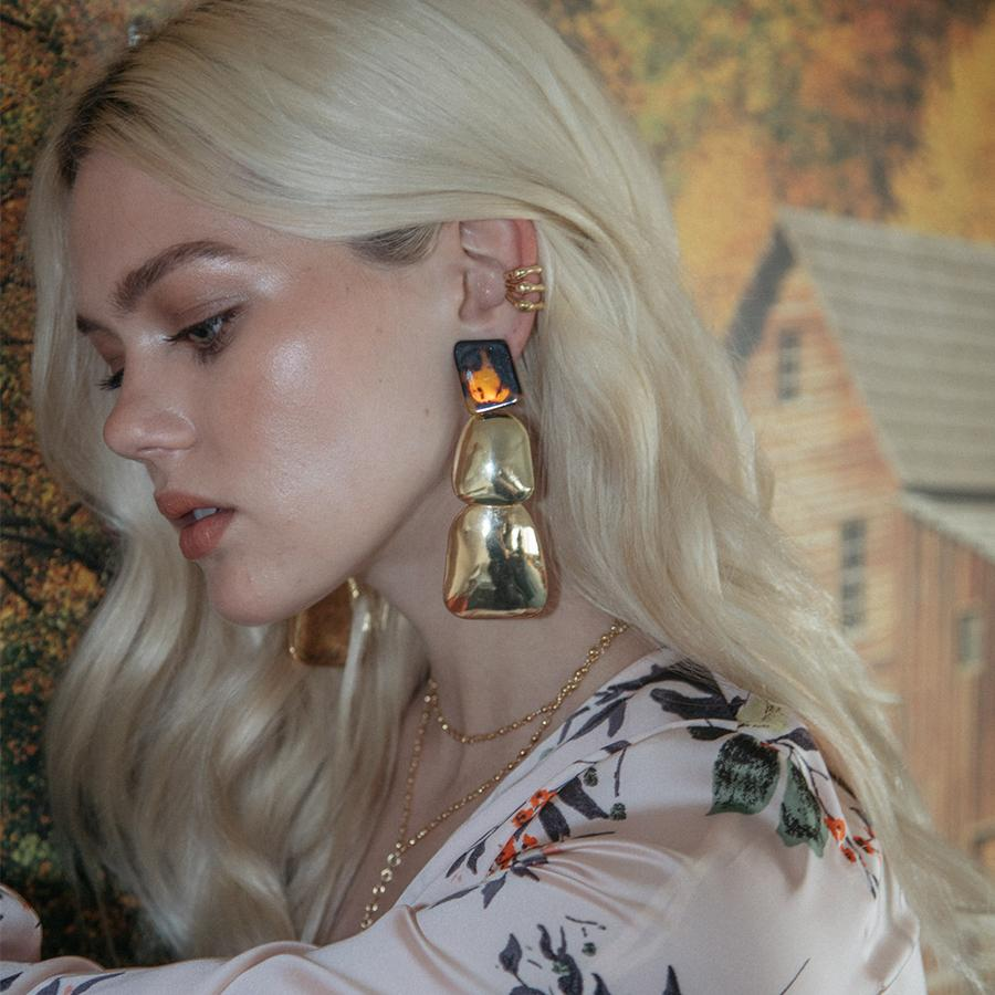 The 2Bandits | Yellowstone Clip-On Earrings