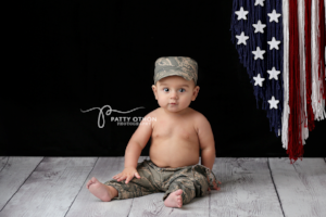 Air Force - Military {newborn/sitter}, Pants, hat, skirt and headband - No. 2 Willow Lane