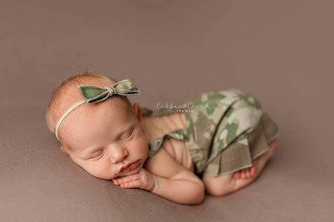Lil' Trooper ~ Army SALE, Pants, hat, skirt and headband - No. 2 Willow Lane