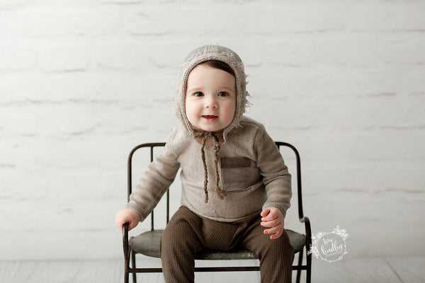 Camden {newborn or sitter}, Romper - No. 2 Willow Lane