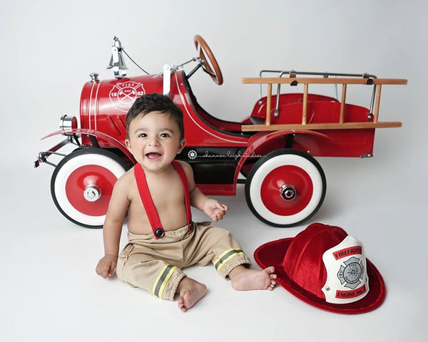 Lil' Firefighter {newborn or sitter},  - No. 2 Willow Lane