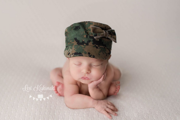 Lil' Trooper ~ Marine, Pants, hat, skirt and headband - No. 2 Willow Lane