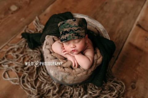 Lil' Trooper ~ Marine SALE, Pants, hat, skirt and headband - No. 2 Willow Lane