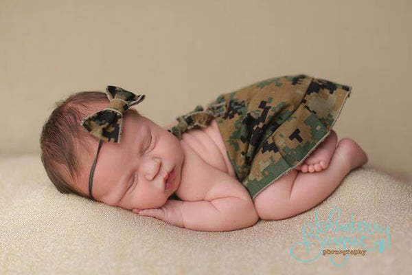 Marine {boy/girl/newborn/sitter}, Pants, hat, skirt and headband - No. 2 Willow Lane