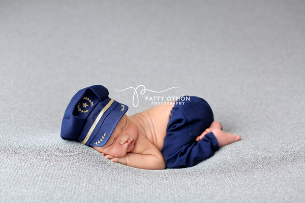 Lil' Pilot {boy/girl}, Pants and hat - No. 2 Willow Lane