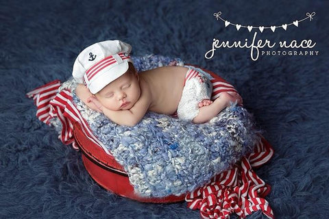 Lil' Sailor {newborn}