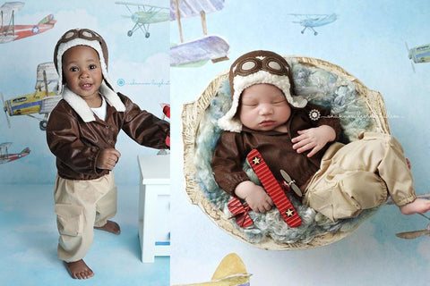 Lil' Aviator {newborn or sitter}