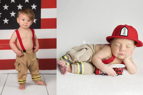 Lil' Firefighter {newborn or sitter}
